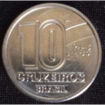 Moeda Brasileira Antiga - 10 Cruzeiros 1991 Frete Grátis