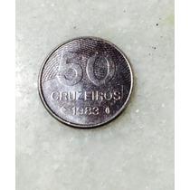 Moedas Antigas 50 Cruzeiros 1983