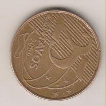A20 - 25 Centavos 2009 Reverso Horizontal Rara R$ 50,00