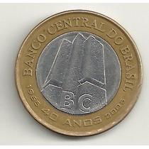 1 Real 2005 - 40 Anos Do Bc - Circulada