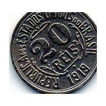 Moeda 20 Reis 1919 Ref 058