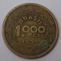 140.21 Moeda 1000 Réis Bronze-alumínio 1939 Tobias Barreto