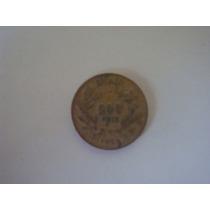 Moeda Antiga Brasileira- 500 Reis