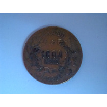 Raridade! Moeda Antiga Brasileira- 1.000 Reis - 1927