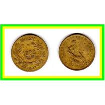 Moeda Brasil 1927 * 1.000réis * Lady (251)
