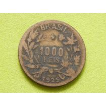Moeda De 1000 Réis De 1925 - Brasil - (ref 1307)