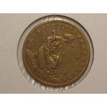Raro Reverso Inclinado A Esq.) 1.000 Rs. 1927(60 Gráus)