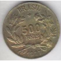 Moeda 500 Reis 1927