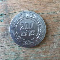 Moedas Antigas Do Brasil - 200 Réis Ano 1930 Cupro Níquel