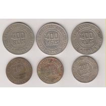 1069 - 6 Moedas Brasileiras De Níquel Coleção R$ 18,00