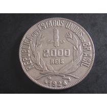 Moeda De 2000 Réis De 1924 - Prata - 4