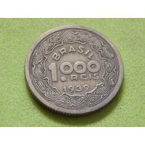 Moeda De 1000 Réis De 1939 Tobias Barreto Brasil (ref 2151)