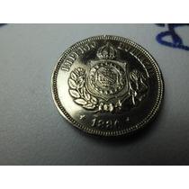 Moeda Rara Do Império 50 Reis 1886-mbc++ Perfeita Ref 4