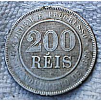 Moeda De 200 Reis De 1889