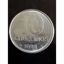 10 Cruzeiros/1986 - Brasil (v.361)
