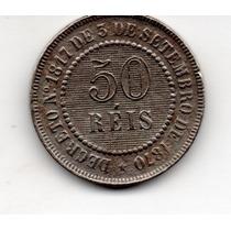 Moeda 50 Reis 1886 Ref 025
