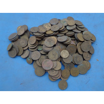 200 Antigas Moedas Brasil Bronze Alumínio Data 1922 Até 1956