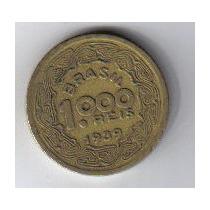 Brasil - Moeda De 1.000 Réis - 1.939 - Tobias Barreto. .
