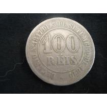 Moeda De 100 Réis Data Super Escassa-010-catálogo-original