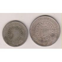 A248 - 100 E 200 R.é.i.s 1889 As Duas Por R$ 16,00