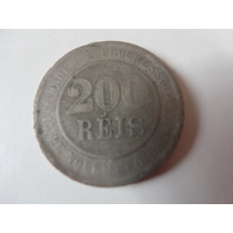 Moeda 200 Reis 1889