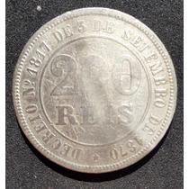 Brasil Império - 200 Réis 1871