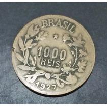 Moeda 1000 Mil Réis Símbolo Fortuna Bronze-alumínio 1927