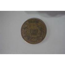 Moeda Antiga 1.000 Reis- 1924 - Bronze Aluminio