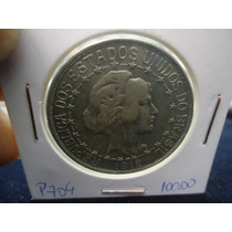 P704 Oferta Moeda Prata Brasil 2$000 Mil Reis 1912 E. Ligada