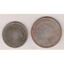 A254 - 100 E 200 R.é.i.s 1889 O Lote Por R$ 15,00