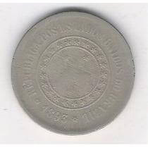 Brasil 100 Réis 1893 Cupro-níquel 27mm