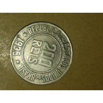 Antiga Moeda De 200 Réis-nº 1767