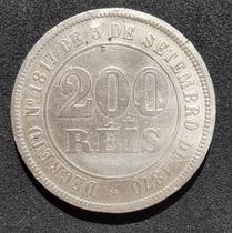 Brasil Império - Moeda De 200 Réis 1871