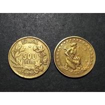 500 Réis De 1924 -brasil (v.124)