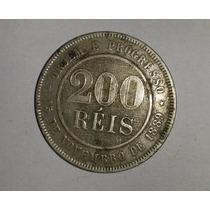 Moedas De 200 Reis De 1889