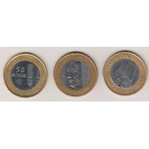 A216 - 1 Um Real Banco Central 40/50 Anos Jk O Lote R$ 16,00