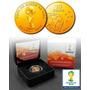 Moeda De Ouro Copa Do Mundo 2014 - Frete Gratis