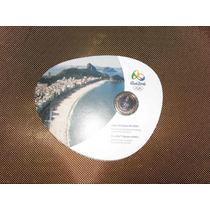 Blister-moeda 1 Real Jogos Olimpicos Rio 2016