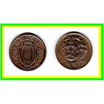 Moeda Brasil 1936 * 300 Réis * Carlos Gomes (196)