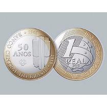 Moeda Comemorativa Banco Central Do Brasil 50 Anos Rara