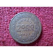 Moeda 2000 Réis - 1939 - Floriano Peixoto - S / Mbc