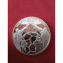 Medalha Moeda Comemorativa Copa Do Mundo Brasil Gold 24k