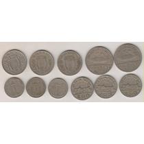 B111 - Moedas De Níquel 11 Datas Diferentes Coleção R$ 28,00