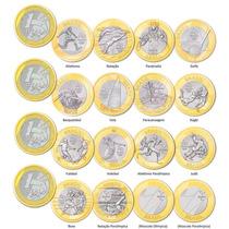 Moeda R$1,00 Comemorativa Olimpíadas 2016 - 3 Por R$ 11,00