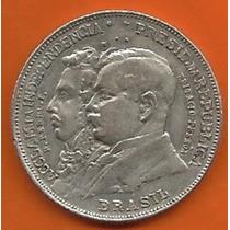 Moeda De Prata Comemorativa 2000 Réis 1922 - Imperdível!!!