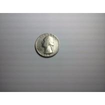 Moeda Coin Quarter Dollar $0,25 Cents Liberty 1967
