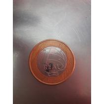 Moeda 1 Real Comemorando 50 Anos Banco Central