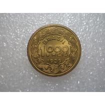 1000 Réis 1939 Tobias Barreto- Bronze Alumínio - Linda