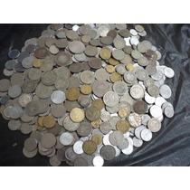 Lote 66 - 600 Moedas Antigas Diversas Do Brasil Para Coleção