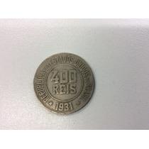 Moeda 400 Reis 1931